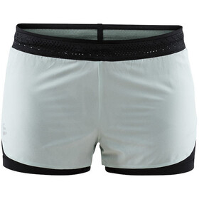 Craft Nanoweight Løpeshorts Dame Svart/turkis